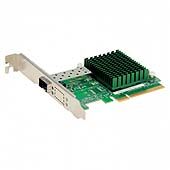 Supermicro Standard Low-profile 1-port 10GbE SFP+ 82599EN; OEM and Bundled only AOC-STGN-I1S