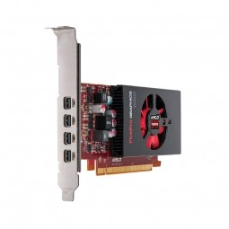 AMD FirePro W4100 2GB 4xmDP LP Retail