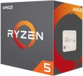 AMD Ryzen 5 1400 Box AM4 (3,200GHz) YD1400BBAEBOX with Wraith Stealth cooler