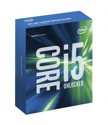 Intel Box Core i5 Processor i5-6600K 3,50Ghz 6M Skylake
