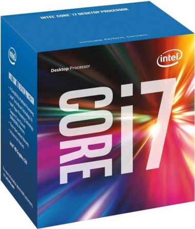 Intel Box Core i7 Processor i7-6700 3,40Ghz 8M Skylake