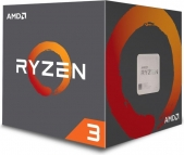 AMD Ryzen 3 1200 Box AM4 (3,100GHz) YD1200BBAEBOX incl. Wraith Stealth Cooler