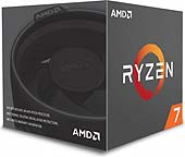 AMD Ryzen 7 1700 Box AM4 (3,000GHz) YD1700BBAEBOX with Wraith Spire cooler
