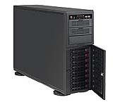 Obudowa serwerowa CSE-743TQ-1200B-SQ Black 4U Tower SC743TQ SQ with USB3, 1200W PWS
