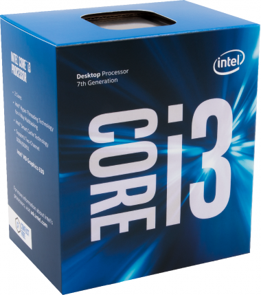 Intel Box Core i3 Processor i3-7100 3,90Ghz 3M Kaby Lake