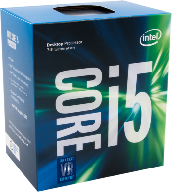 Intel Box Core i5 Processor i5-7600K 3,80Ghz 6M Kaby Lake