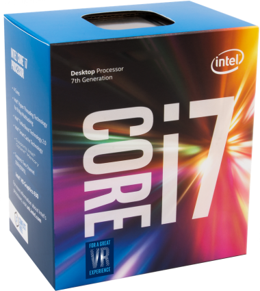 Intel Box Core i7 Processor i7-7700 3,60Ghz 8M Kaby Lake