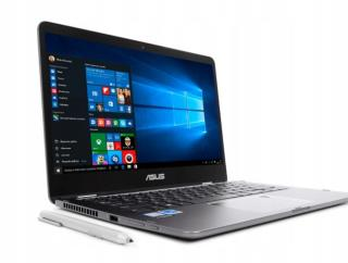 Notebook Asus ZenBook Flip UX461UA-E1009T 14''FHD touch/i5-8250U/8GB/SSD256GB/UHD620/W10 Black-Grey
