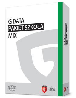 G DATA Pakiet Szkoła MIX BOX do 100PC 1 ROK
