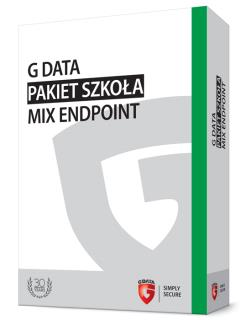 G DATA Pakiet Szkoła MIX Endpoint BOX do 100PC 1 ROK