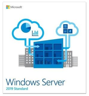 Oprogramowanie Windows Server Standard 2019 64Bit Polish DVD 16 Core