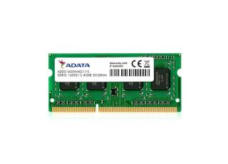 Pamięć SO-DIMM ADATA DDR3L 4GB (1x4GB) 1600MHz CL11 1,35V