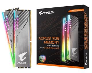 DDR4 16GB KIT 2x8GB PC 3200 GIGABYTE AORUS RGB GP-AR32C16S8K2HU416R