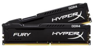 DDR4 16GB KIT 2x8GB PC 2400 Kingston HyperX FURY HX424C15FB2K2/16