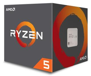 AMD Ryzen 5 1500X Box AM4 (3,500GHz) YD150XBBAEBOX with Wraith Spire cooler