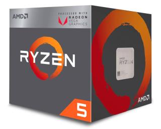 AMD Ryzen 5 2400G Box AM4 (3,900GHz) YD2400C5FBBOX with Wraith Stealth cooler