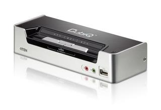 Przełącznik KVM ATEN HDMI/USB 2.0/Audio CS1792 (CS1792-AT-G) 2-port.
