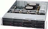 Obudowa serwerowa CSE-825TQ-560UB BLACK 2U SC825 UI/O CHASSIS W/560W POWER SUPPLY