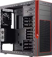 Obudowa serwerowa CSE-GS5B-000R Black S5 Mid-Tower Chassis (Red Trim) W/O Power Supply