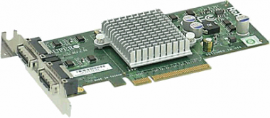 Supermicro 2-port 10G Standard LP NIC Card with CX4 connectors AOC-STG-I2