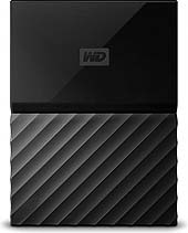 WD HDex 2.5 USB3 4TB My Passport Black