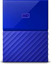 WD HDex 2.5 USB3 4TB My Passport Blue