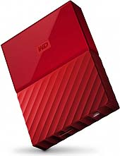 WD HDex 2.5 USB3 1TB My Passport Red