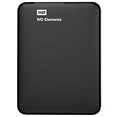WD HDex 2.5' USB3 3TB Elements Portable black